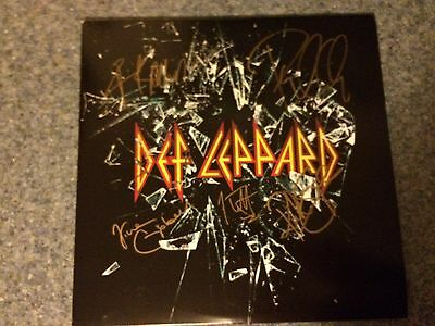 Def Leppard Full Band Signed Album