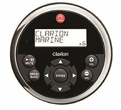 Clarion MW1 Watertight Black Face with Stainless Steel Bezel