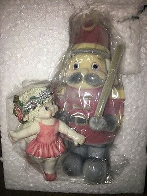 Dreamsicles Flocked Toy Soldier Christmas dance With A Soldier 10th Anniversary