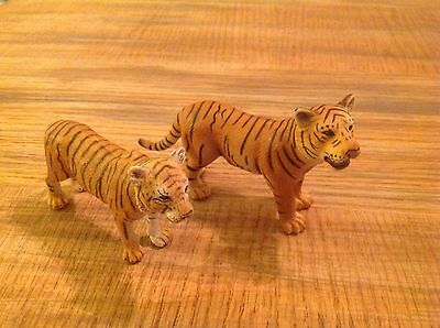 Schleich Male and Female Tiger Tigers