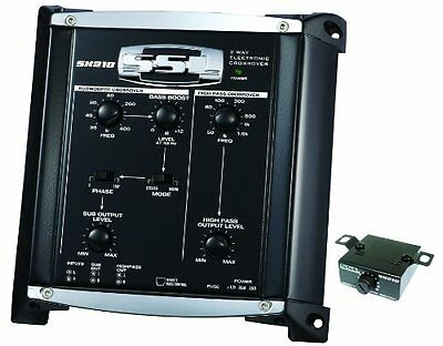 SSL SX210 2-way Pre-Amp Electronic Crossover with Remote Sub