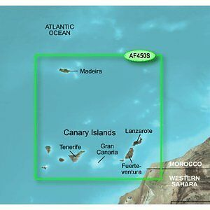 Garmin Bluechart G2 - HXAF450S - Madeira & Canary Islands -