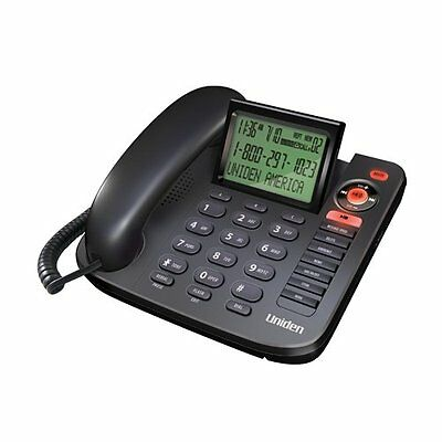 Uniden 1380BK Corded Caller ID phone with Answering System,
