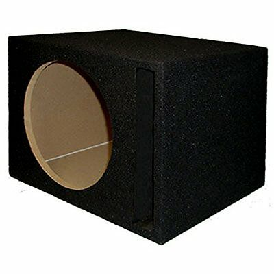Sycho Sound New Single Car Black Subwoofer Box Ported Automo