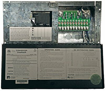 Parallax Power Supply (7155) Power Center with 55 Amp Conver