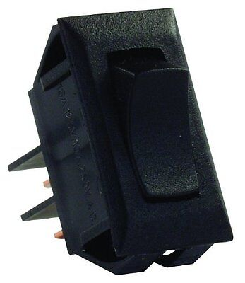 JR Products 12705 Momentary On/Off 12V Black Switch