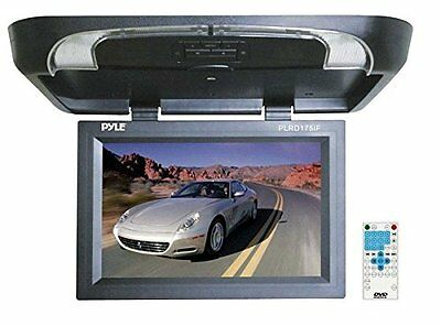 PYLE PLRD175IF 17'' Flip Down Monitor w/ Built in DVD/ SD/ U