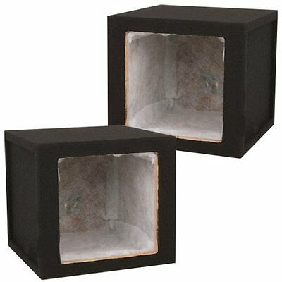 Absolute USA KSB10S Single 10-Inch MDF Square-Hole Sealed En