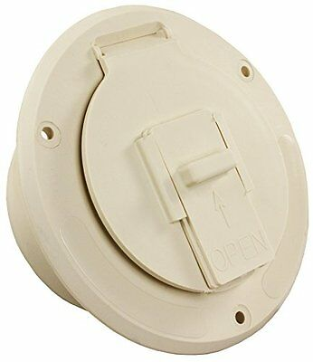 JR Products (S-23-14-A) Colonial White Economy Round Electri