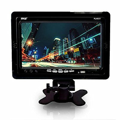 PYLE PLHR77 7'' Wide Screen TFT LCD Video Monitor w/Headrest