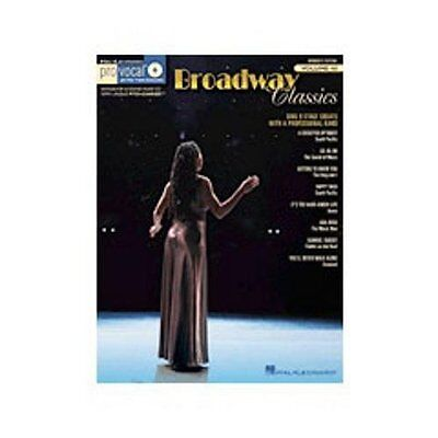Hal Leonard Broadway Classics - Pro Vocal Songbook & CD for