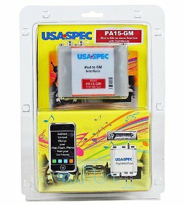 Usa Spec Pa15-gm Chevrolet, Gmc, Buick, and Cadillac Ipod/ip
