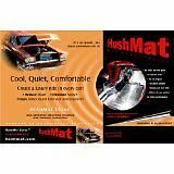 """Brand New Hushmat 10301 Trunk Kit with 10 Silver Sheets 12""""x23"""" (19 Square"""
