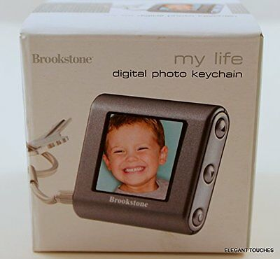 Brookstone My Life Digital Photo Keychain