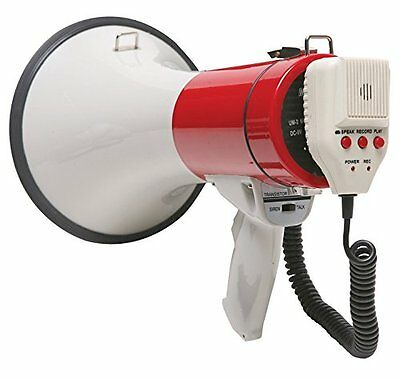 Califone PA20R 3D Ready Short Throw Megaphone with 1000 ft R