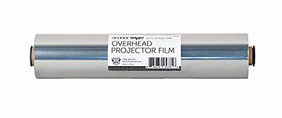 School Smart Overhead Projector Film Rolls - 10 1/2 inch x 5