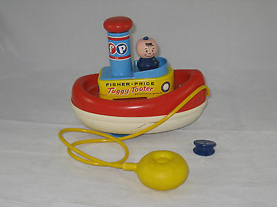 Vintage Fisher-Price #139 Tuggy Tooter