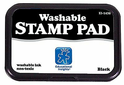 Educational Insights Washable Stamp Pad- Black