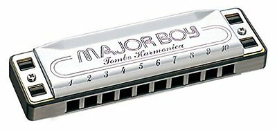 Tombo Major Boy Key of B-flat 10-hole Harmonica