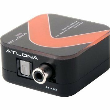 Atlona Digital Coaxial to Optical Toslink & Optical Toslink