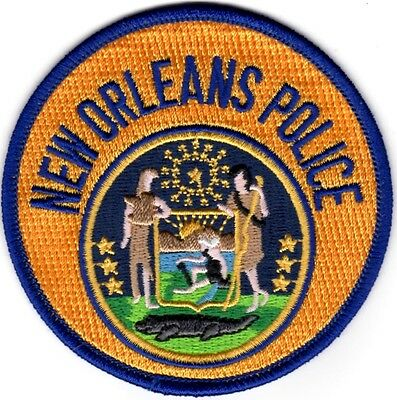 New Orleans Police Patch Louisiana LA NEW