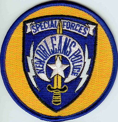New Orleans Special Forces  Police Patch Louisiana LA NEW
