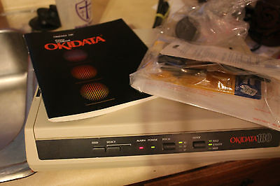 Okidata 180 Printer for Commodore Computers w/ ink and manual