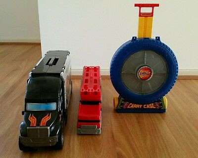 Hot wheels Carry Cars Cases Storage and Display