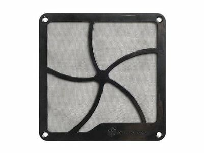 SilverStone 140mm Fan Filter with Magnet for Case Fan/Power Supply Fan and