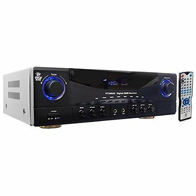 Pyle 5.1 Channel Amplifier Receiver Home Theater Surround So