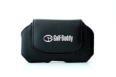 Golfbuddy world platinum leather holster