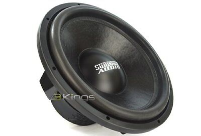 "SA-15 D4 - Sundown Audio 15"" 600W Dual 4-Ohm SA Series Subwo"