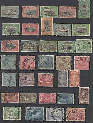 Stamps Bel-Congo 34Pc Used Lot