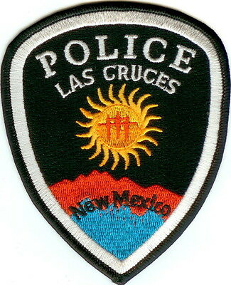 Las Cruces Police Patch New Mexico NM NEW