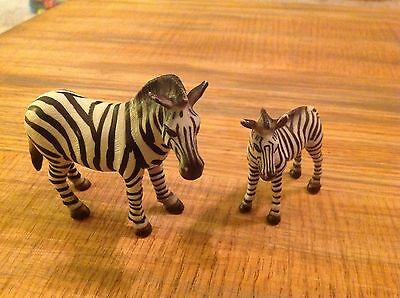 Schleich Zebra Female and Foal