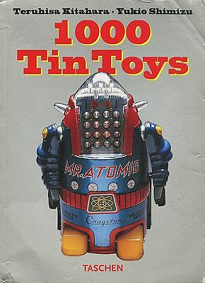 Vintage Tin Toys - Names Makers Dates Dimensions (1000+ Toys) / Illustrated Book