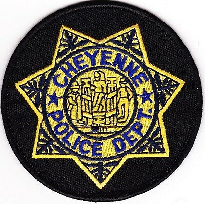Cheyenne Police Patch Wyoming WY NEW