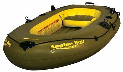 AIRHEAD AHIBF-03 Angler Bay 3 Person Inflatable Boat