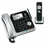 TL86109 DECT6.0 2-Line Corded/Cordless Phone with Digital Answering-ATTTL86