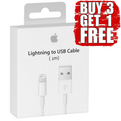 1m USB Lightning Sync & Charger Cable For iPhone 5 5S 6 6S 7 7S iPad 4 Air box