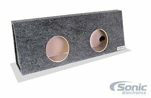 Atrend A392-10CP B Box Series 10-Inch Dual Enclosure for Ford F250/F350 Cre