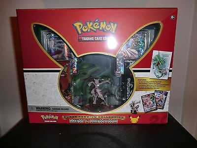 Pokemon sealed super premium mew & mewtwo ex generations collection box