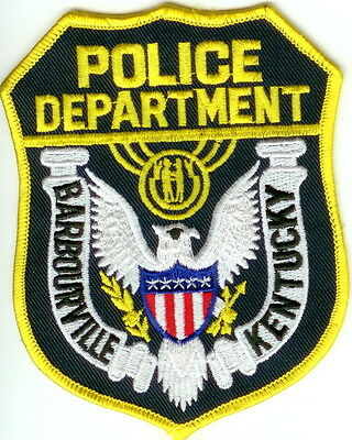 Barbourville Police Patch Kentucky KY NEW