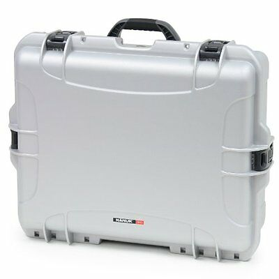 Nanuk 945 Hard Case with Cubed Foam (Silver)