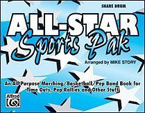 All-Star Sports Pak Book Snare Drum