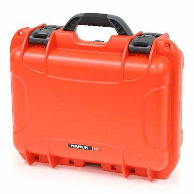 Nanuk 915 Hard Case with Padded Divider (Orange)