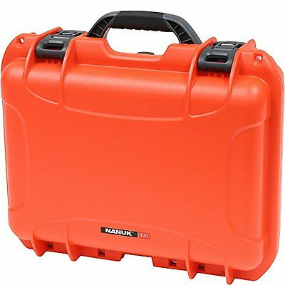 Nanuk 920 Hard Case with Padded Divider (Orange)