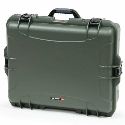 Nanuk 945 Hard Case with Padded Divider (Olive)