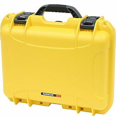 Nanuk 920 Hard Case with Padded Divider (Yellow)