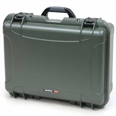Nanuk 940 Hard Case with Cubed Foam (Olive)